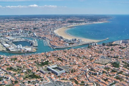 The Sands of Olonne and the Island of Noirmoutier